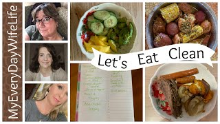 🍎What I Ate & Menu Planning || Clean Eating Challenge August 2019