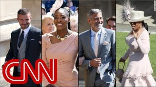 Famous royal wedding guests: Who was there? - Video Youtube