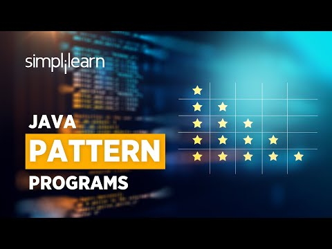 Pattern Programs In Java | Java Pattern Programs Tutorial | Java Tutorial For Beginners |Simplilearn