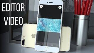 Быстрая обработка видео на iOS. Приложение Editor Video.