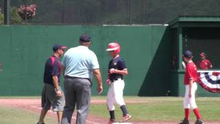 preview picture of video 'Cooperstown Dreams Park 2013 Week 9 Mt Olive Marauders 12u Travel Baseball Game 4 Highlights'