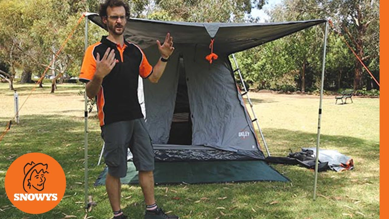 Oxley 7 Canvas Touring Tent