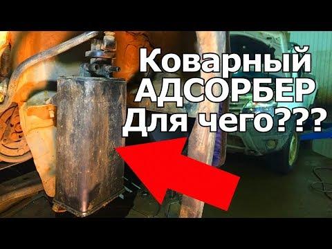 Коварный адсорбер на Рено,при чем тут топливный бак, щелчки клапана. | Видеолекция#2