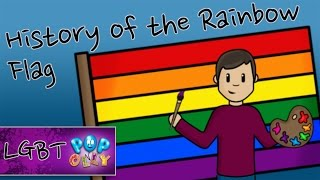 History of the Rainbow Flag for Kids | Pop'n'Olly | Olly Pike