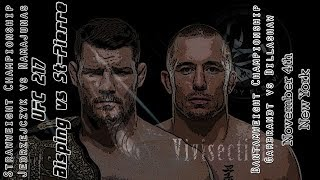The MMA Vivisection - UFC 217: Bisping vs. St-Pierre picks, odds, & analysis
