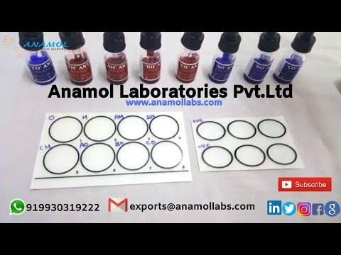 Widal Slide Test Salmonella Antigen Kit