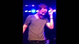 Imagine Dragons lead singer Dan Reynolds is overwhelmed by the Utah fans LOVE!
