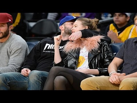 Adam Levine And Wife Behati Prinsloo Attend LA Lakers Game Mp3