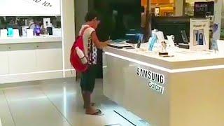 ბიჭი ყოველდღე პლანშეტს რთავდა მაღაზიაში,გამყიდველი მიხვდა რის გამოც აკეთებდა ამას და ვიდეო გადაუღო!