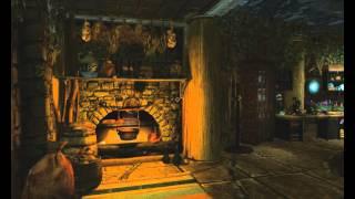 """TESV. Skyrim. Красивый дом """"Халамширал. Башня волшебника"""""""