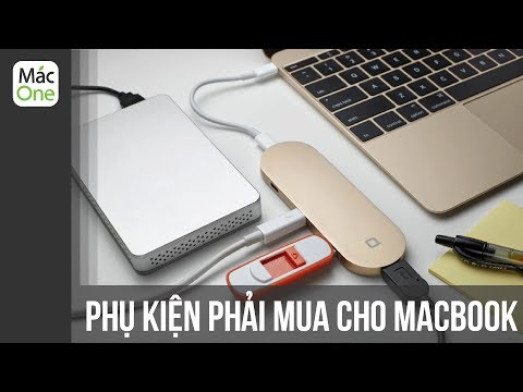 Những phụ kiện cho Macbook ĐÁNG MUA NHẤT