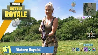 Download Video Airsoft War: Fortnite Battle Royale in Real Life! | TrueMOBSTER MP3 3GP MP4