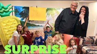 KIDS SURPRISE PARENTS WITH HUGE 40TH WEDDING ANNIVERSARY PRESENT