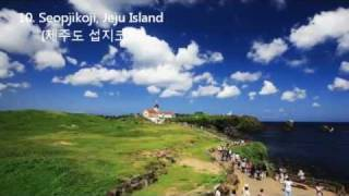 50 beautiful places to visit in Korea