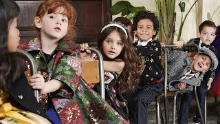 Dolce&Gabbana Fall Winter 2019-20 Children's Advertising Campaign