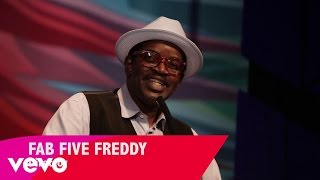 """As part of the """"Spectacle: The Music Video"""" exhibit at New York's Museum Of The Moving Image, director Fab 5 Freddy is interviewed about the early days of gr..."""