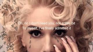 Gwen Stefani - Me Without You (Lyrics)