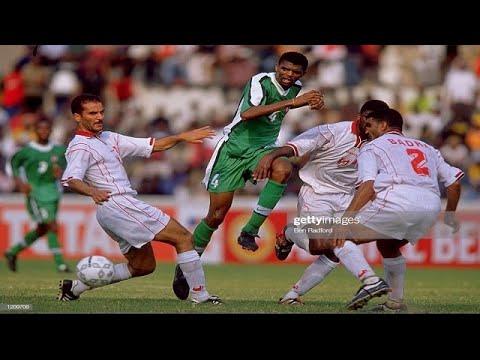 Nwankwo Kanu Hattrick of Assists   Nigeria 4 - 2 Tunisia (AFCON 2000)