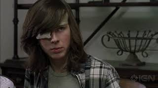 The Walking Dead - Carl Confronts Rick