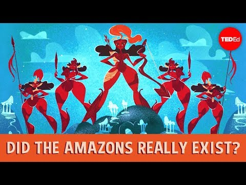 Did the Amazons really exist? – Adrienne Mayor