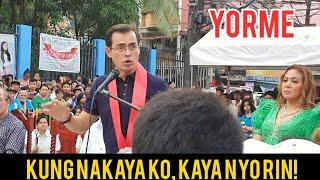 MAYOR ISKO BATANG TONDO | PINANDAY NG TALINO AT HUSAY