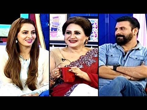 Ek Nayi Subah with Farah - Asma Abbas and Shamoon Abbasi - 3 Oct 2017 - A Plus