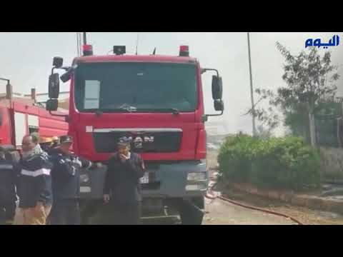فيديو.. 20 قتيلاً في حريق ضخم بمصنع ملابس بالقاهرة