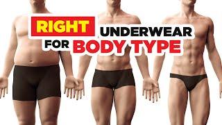 Best Underwear For Body Type?  Boxers Vs Briefs Vs Thongs?