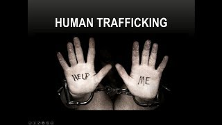 Identifying Human Trafficking with Dr. Pruett