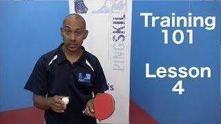 Training 101 | Forehand & Backhand Counterhit | Table Tennis | PingSkills