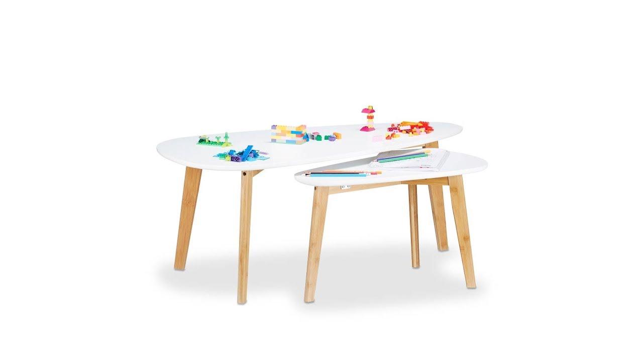 Video von: Satztisch aus Holz in Pfeilform