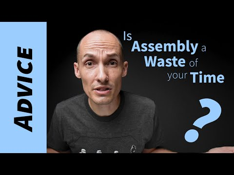 Why should I learn assembly language in 2020? (complete waste of time?)