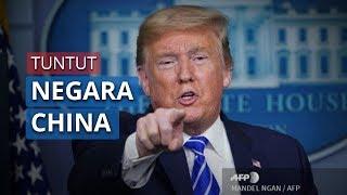 Presiden AS Donald Trump akan Tuntut China atas Wabah Covid-19