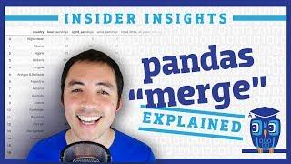 How do I merge DataFrames in pandas?