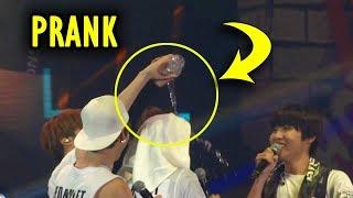 BTS prank each other 