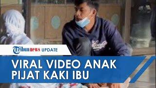 Viral Video Anak Pijat Kaki Ibu di Bandara, Pengunggah: Tak Ada Maksud Lain, Hanya Kagum