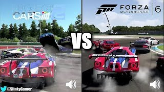 Project CARS 2 Vs Forza Motorsport 6