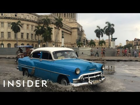 Why are There so Many Colorful Classic Cars in Cuba?