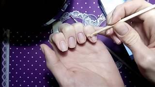 Самая лучшая процедура для восстановления моих ногтей! Запечатывание  ногтей воском!