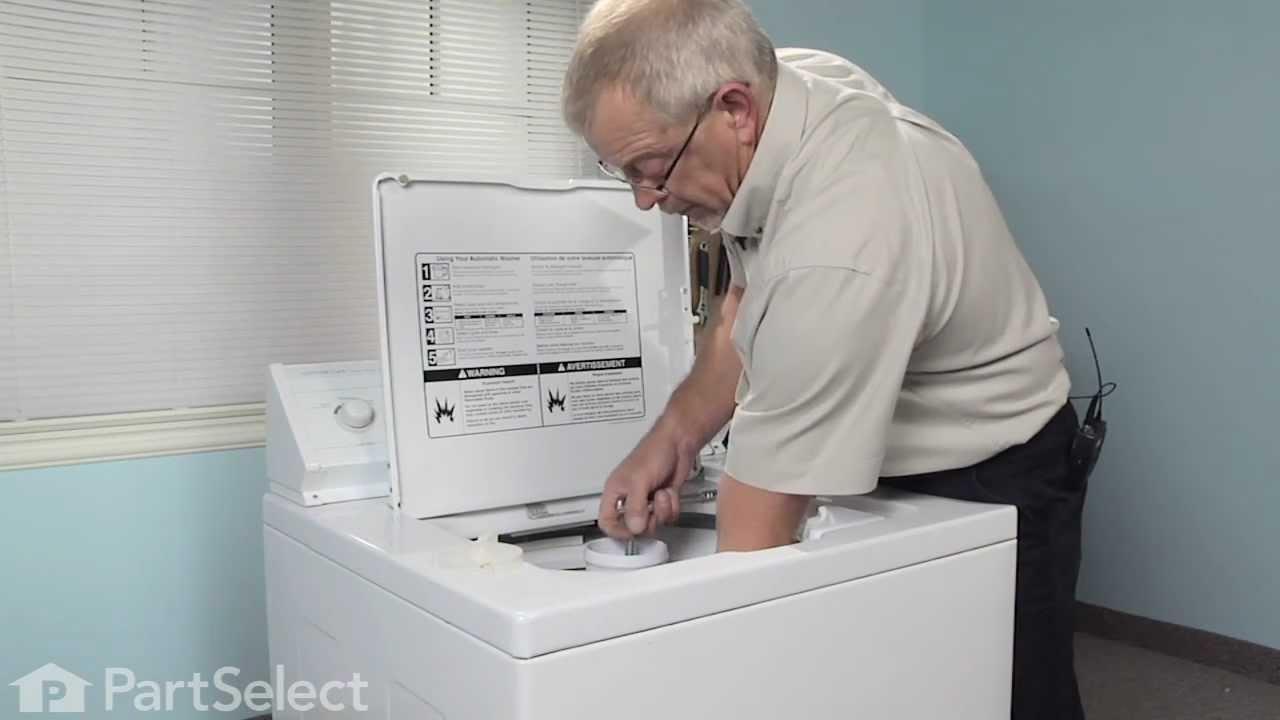 Replacing your Whirlpool Washer Agitator Repair Kit
