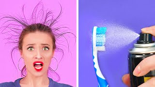 EASY HACKS EVERY GIRL SHOULD TRY    Cool Hacks for Smart Girls by 123 GO!