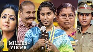 வீர தமிழச்சி! இந்தியாவின் முதல் திருநங்கை Police Prithika Yashini அம்மாவுடன்! கண் கலங்கிய பிரபலங்கள்