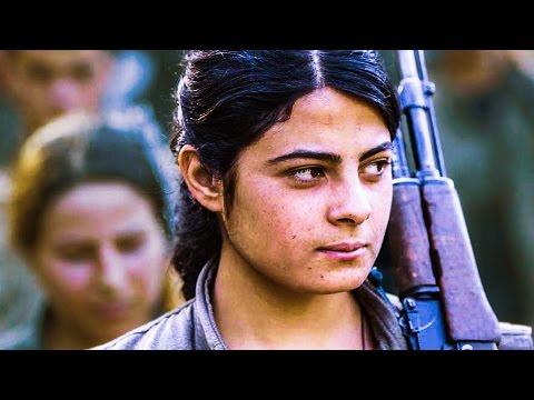 TERRE DE ROSES Bande Annonce (Femmes Combattantes Kurdes - Documentaire 2017)