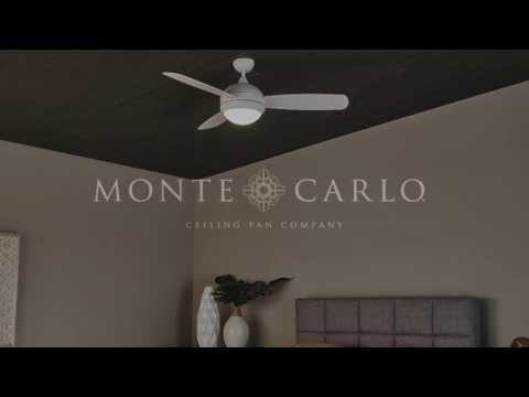 Monte carlo 131 218 brushed steel replacement blades for monte carlo 52 discus trio ceiling fan by monte carlo aloadofball Images