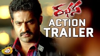 Rabhasa Action Trailer Is out - Jr NTR, Samantha, Pranitha Subhash, Brahmanandam