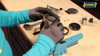 HAZET 4925-2510/9 Doppel-Silentlager Werkzeug-Satz