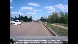Авария в г.Актобе по пр.Санкибая . 26.05.2015