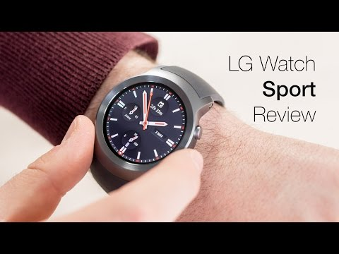 LG Watch Sport review: Attractive smartwatch has one key flaw