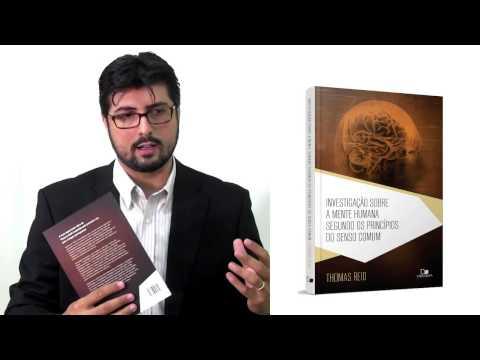 Apresentac?a?o do livro - Investigac?a?o sobre a mente humana -- Jonas Madureira