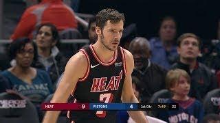 Miami Heat vs Detroit Pistons - First Half Highlights | November 12, 2017 | 2017-18 NBA Season